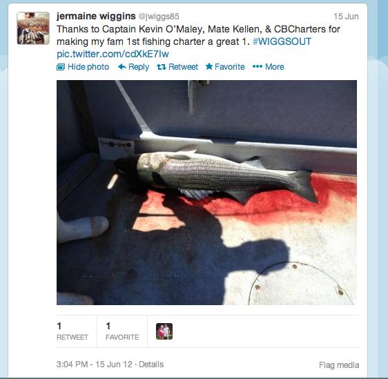 Jermaine Wiggins twitter shout out