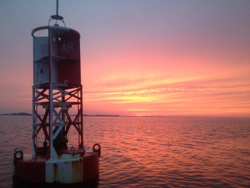 Sunset over the Ocean Gloucester