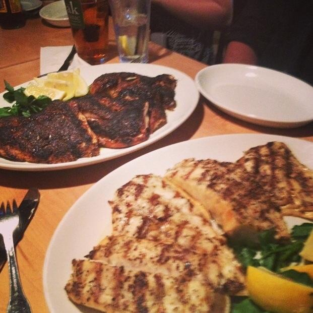 Blackened and Grilled fish. They can take care of your lobsters to!
