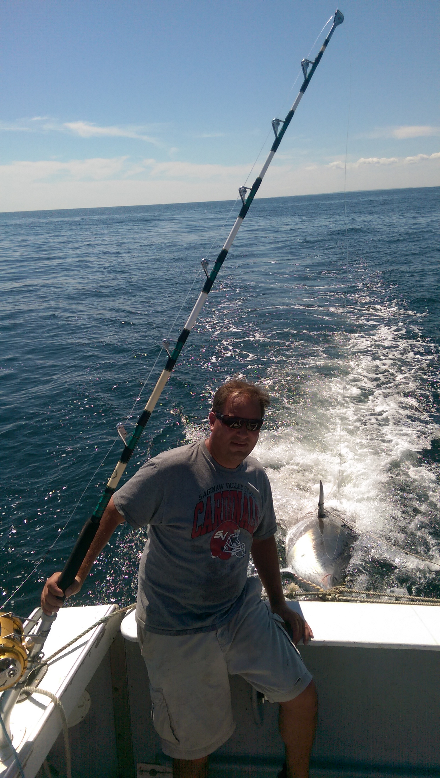 Tuna fishing charter gloucester pays off with bluefin tuna for Gloucester fishing charters