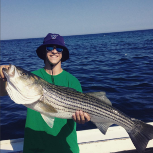 bucket hat angler striped bass