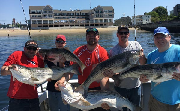 Bachelor Party Fishing Trip Gloucester